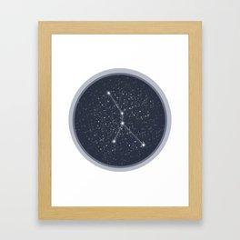Cancer Constellation Framed Art Print
