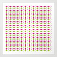 polka dot Art Prints featuring Polka Dot by Ryan Grice