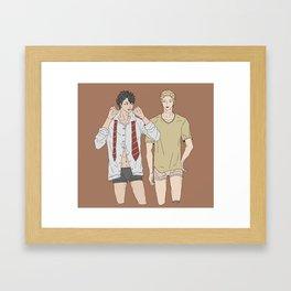 Haikyuu!! - Kurotsuki 11 Framed Art Print