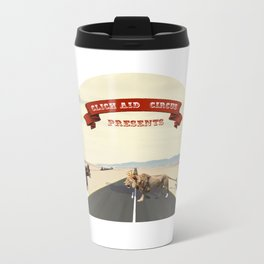 Animal Circus Metal Travel Mug