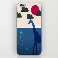 africa iPhone & iPod Skins featuring Africa by Mehdi Elkorchi