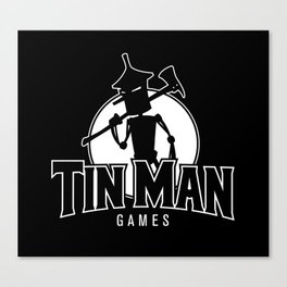 Tin Man Games logo Canvas Print