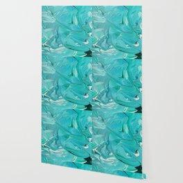 Mint Swirl Wallpaper