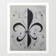 Fleur De Me Art Print