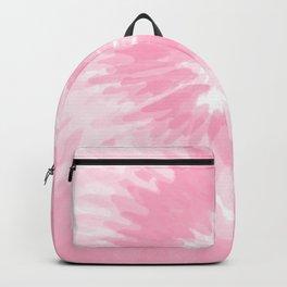 Pastel Pink Tie Dye  Backpack