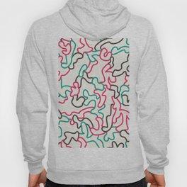 Fantasy pattern. Colour #1. Hoody