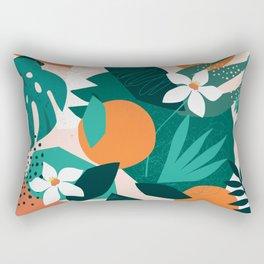 Wild oranges Rectangular Pillow
