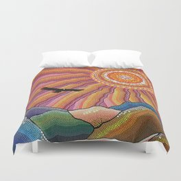 Flight of the Condor Duvet Cover