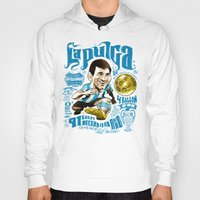 argentina Hoodies featuring Pulga Argentina by Gonza Rodriguez