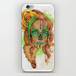Sugar Skull Beauty iPhone Skin