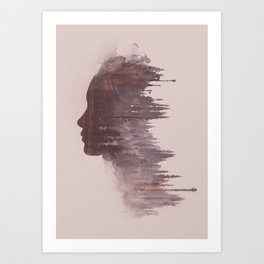 Mater Matris Art Print