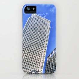 Corporate World London iPhone Case