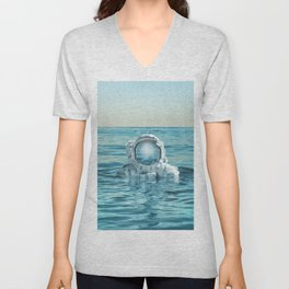 scuba space Unisex V-Neck