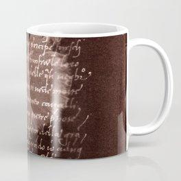 Ballerina III (brown edition) Coffee Mug