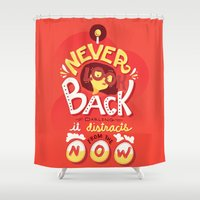 depeche mode Shower Curtains featuring Edna Mode by Risa Rodil