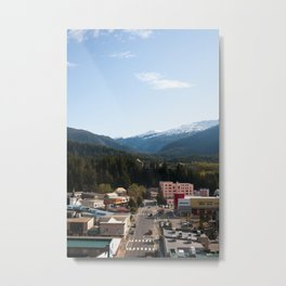 Nestled In Metal Print