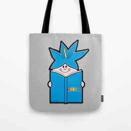 Reading Rainbow in Harmony - Blue Tote Bag