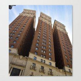 Three Buildings Canvas Print