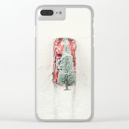 Christmas Eve in a hurry Clear iPhone Case