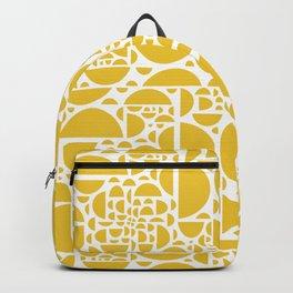 Mid Century Lemon Wedges  Backpack