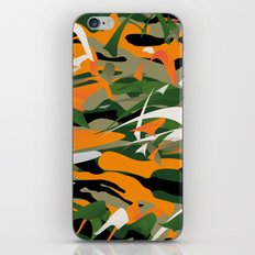 Abstract Camouflage iPhone & iPod Skin