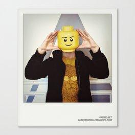 Minifig me ! – Everyone has a LEGO piece inside - 2 Canvas Print