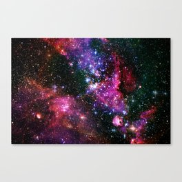 Outer Space Two Canvas Print