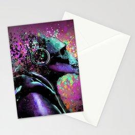 Splatter Ape Stationery Cards