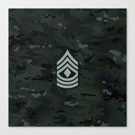 1st Sergeant (Urban Camo) Canvas Print
