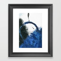 Azure Framed Art Print