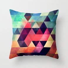 tryypyzoyd symmyr rymyx Throw Pillow
