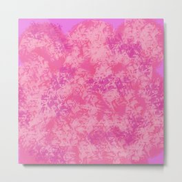 Cotton Candy on Ice Metal Print