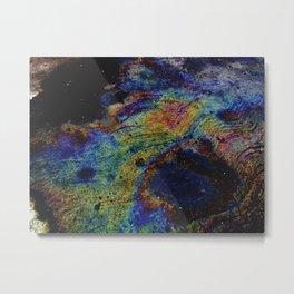 Arcoiris en el suelo Metal Print