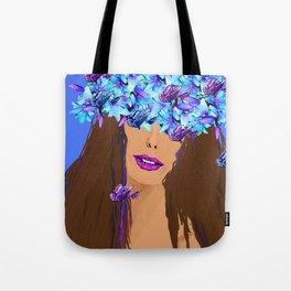 WOMAN I KNOW WHO I AM Tote Bag