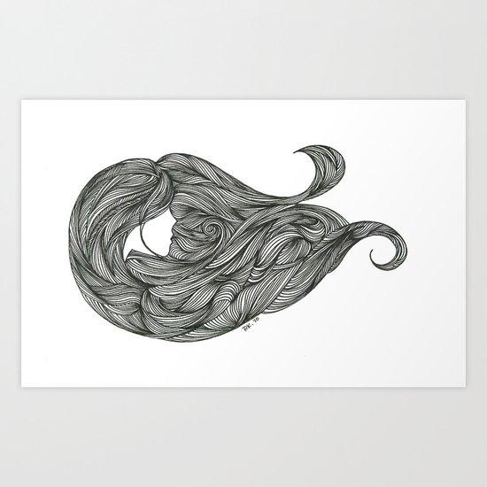 Wind Cries Mary Art Print