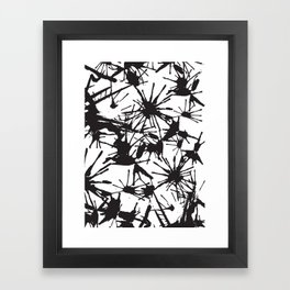 Ink Splatter 01 Framed Art Print