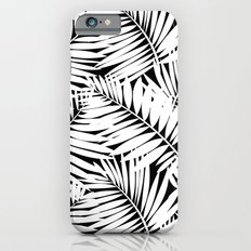 Palm leaves b/w Slim Case iPhone 6