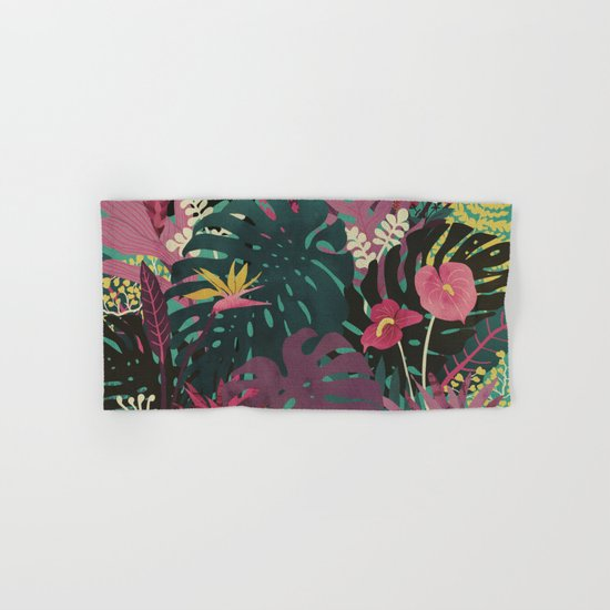 Tropical Tendencies Hand & Bath Towel