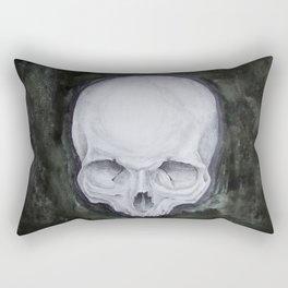 skull study No.4 (aka - Paul) Rectangular Pillow