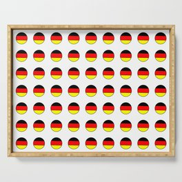 Flag of Germany 4 Serving Tray