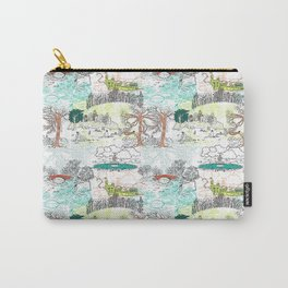 NYC Parks - Toile de Jouy Carry-All Pouch