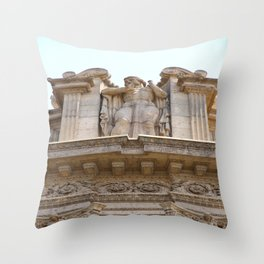 Palace of Fine Arts Relief Throw Pillow