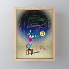 Make your own kind of music! Framed Mini Art Print