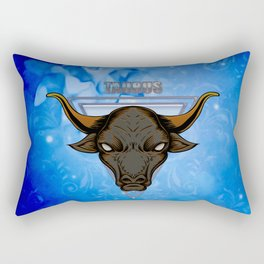 Zodiac sign taurus Rectangular Pillow