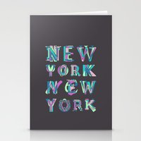 nyc Stationery Cards featuring NYC by Fimbis