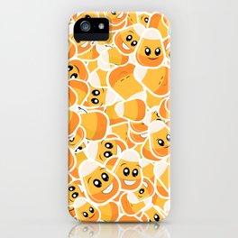 Candy Corn Emoji Pattern iPhone Case