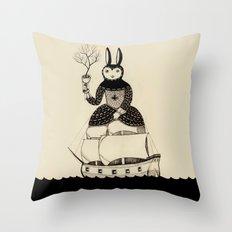 Queen of Cups Throw Pillow