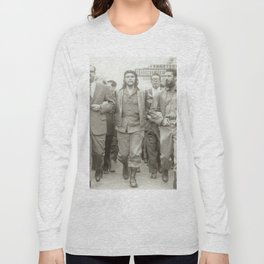 Che Guevara, Fidel Castro and Revolutionaries Long Sleeve T-shirt