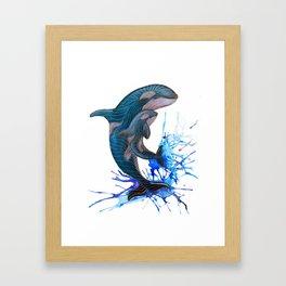 Mother and Calf  Framed Art Print