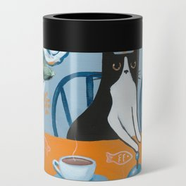 Cats and a French Press Can Cooler